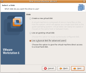vmware-disk-selection